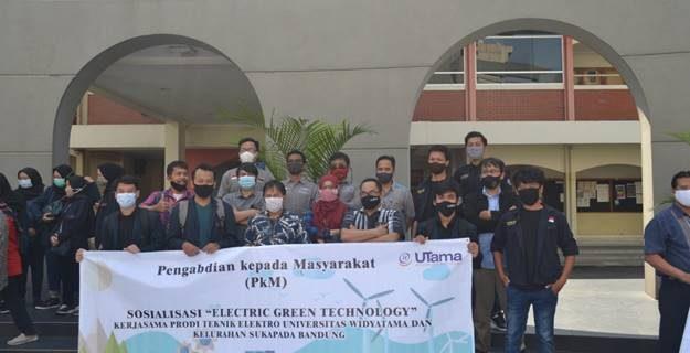 Pengabdian kepada Masyarakat (PkM) Sosialisasi Electric Green Technology
